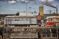 Kunst in der NDSM-Werft Amsterdam