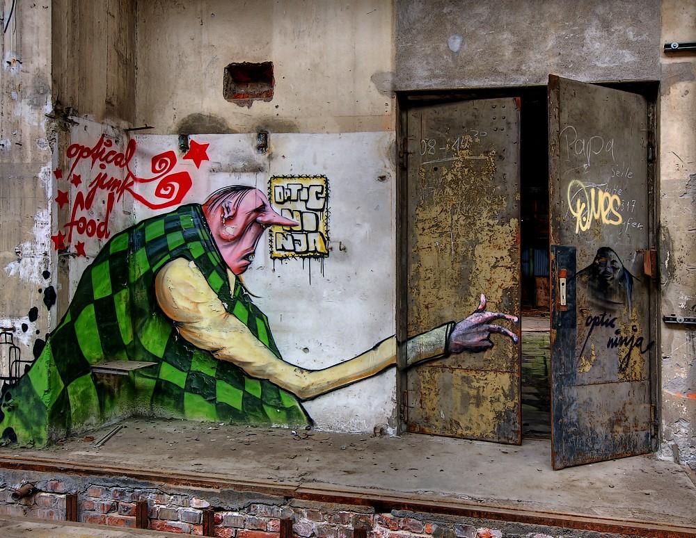 Kunst in der Ruine