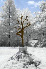 Kunst in Infrarot - Daphne, vergeten herinnering