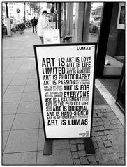 Kunst ist Fotografie