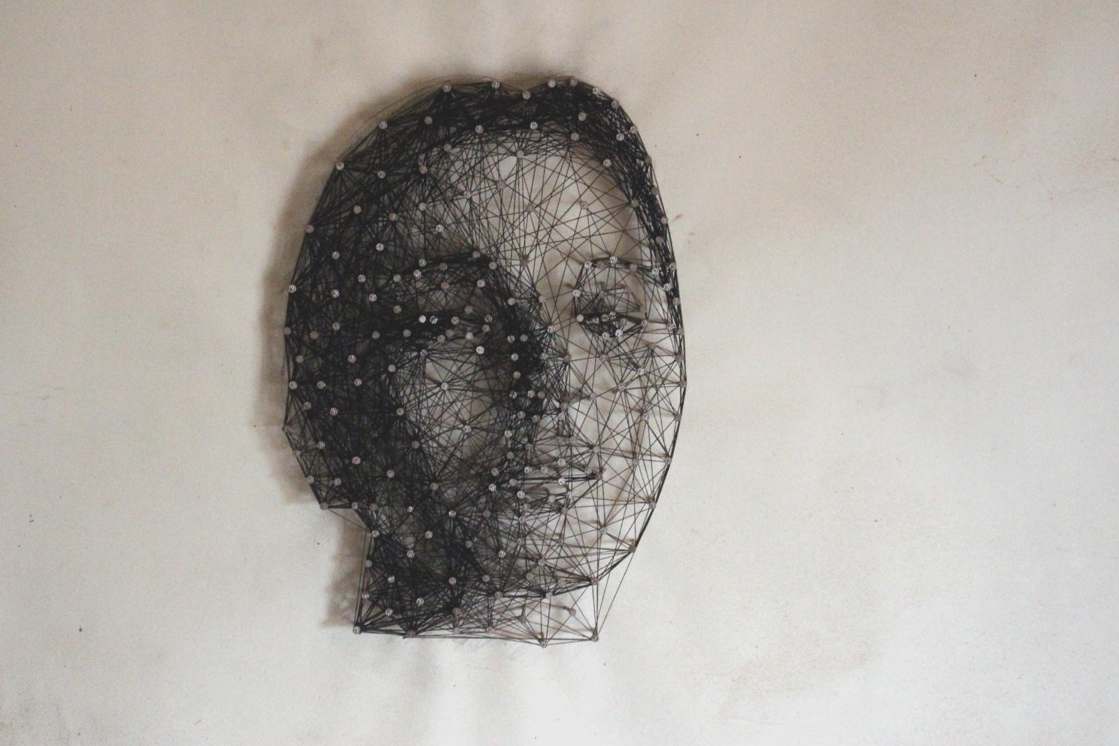 Kunst Mit Nagel Und Faden 2 Foto Bild Kunstfotografie Kultur