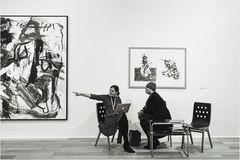 Kunst-Verkaufsverhandlung