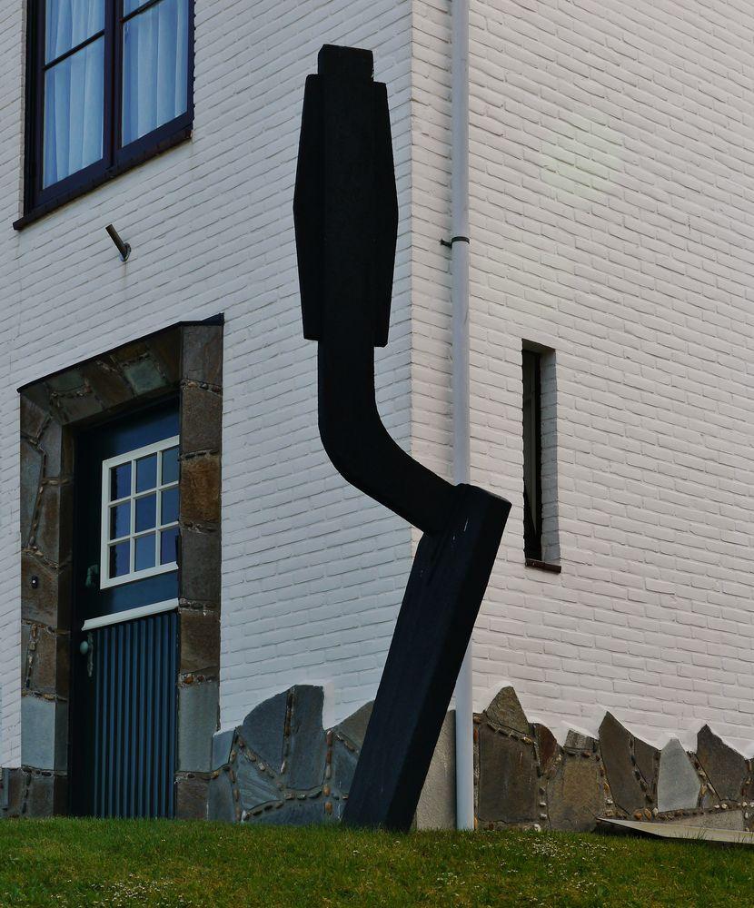 ... Kunst vor dem Haus