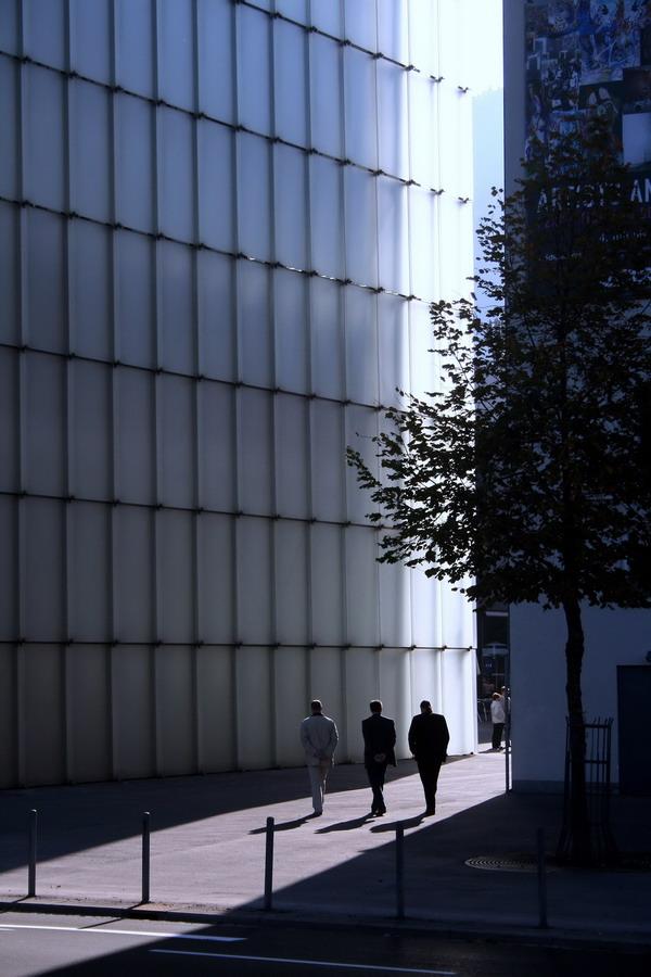 Kunsthaus in Bregenz, Österreich