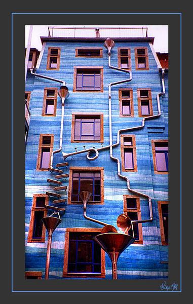 kunsthof dresden haus des wassers foto bild architektur motive bilder auf fotocommunity. Black Bedroom Furniture Sets. Home Design Ideas