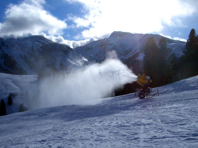 Kunstschneeland Südtirol