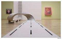 kunstvolle Autobahn