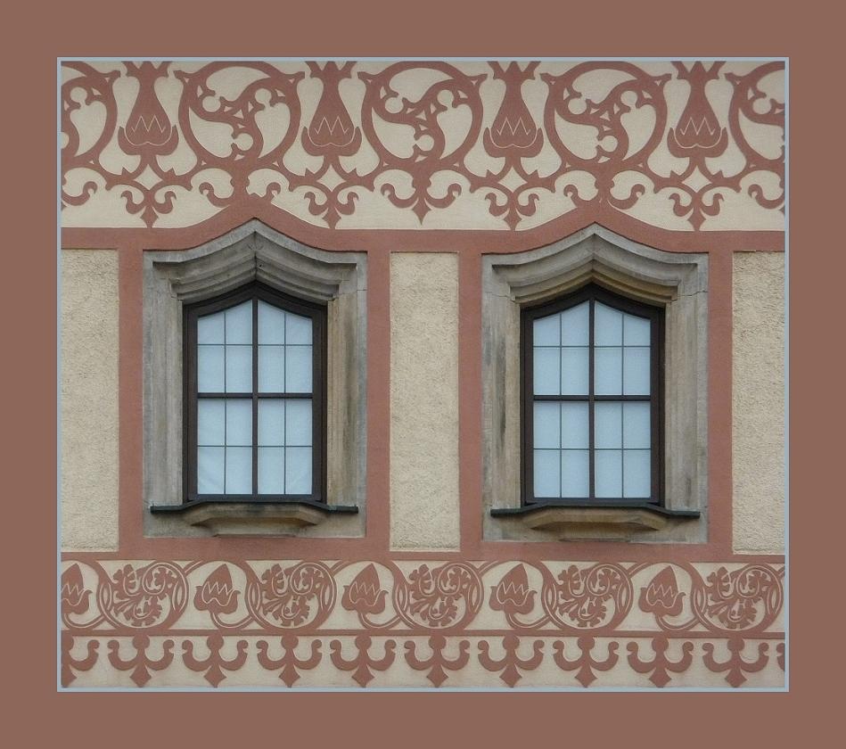 Kunstvolle Fenster...