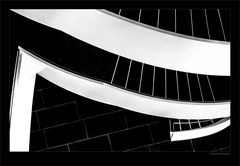 kunstvolles Stufenbauwerk