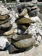 Kunstwerk aus Stein