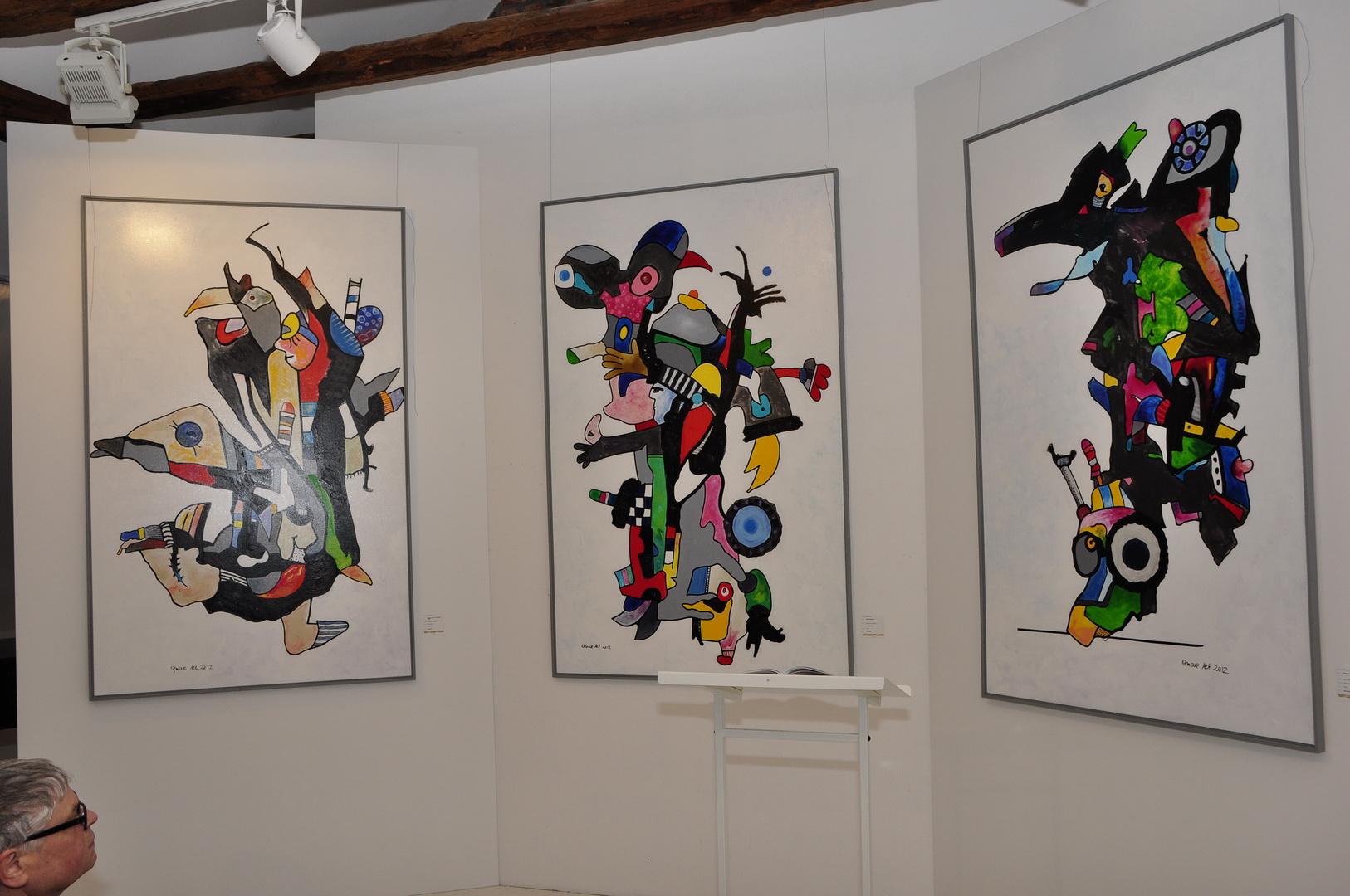 Kunstwerke und Malerei von...
