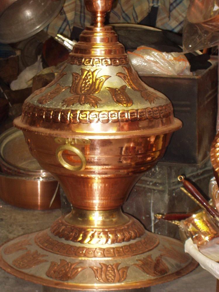 Kupfer Geschir