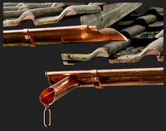 Kupfer-Rinnen