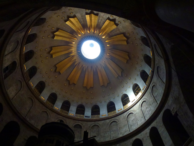 Kuppel der Grabeskirche in der Altstadt Jerusalems