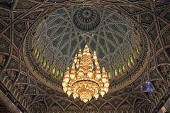 Kuppel der Sultan Qaboos Moschee, Oman