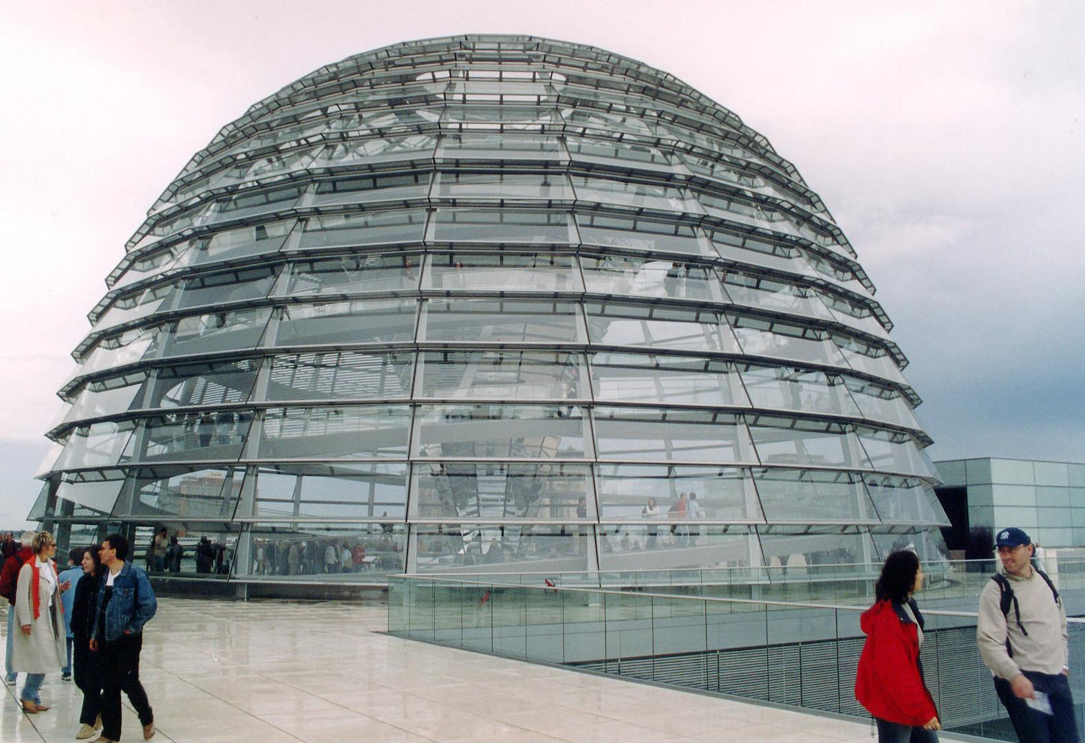 Kuppel des Reichstagsgebäudes (4)