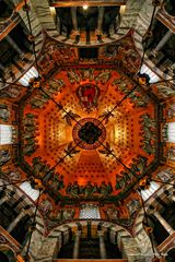 Kuppel im Dom zu Aachen