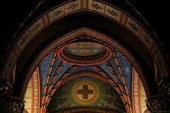 Kuppel im Eingangsbereich