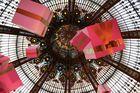 Kuppel im La Fayette in Paris...
