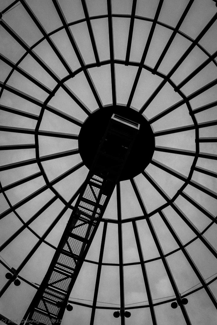 Kuppel Limbecker Platz, Essen, Ruhrgebiet