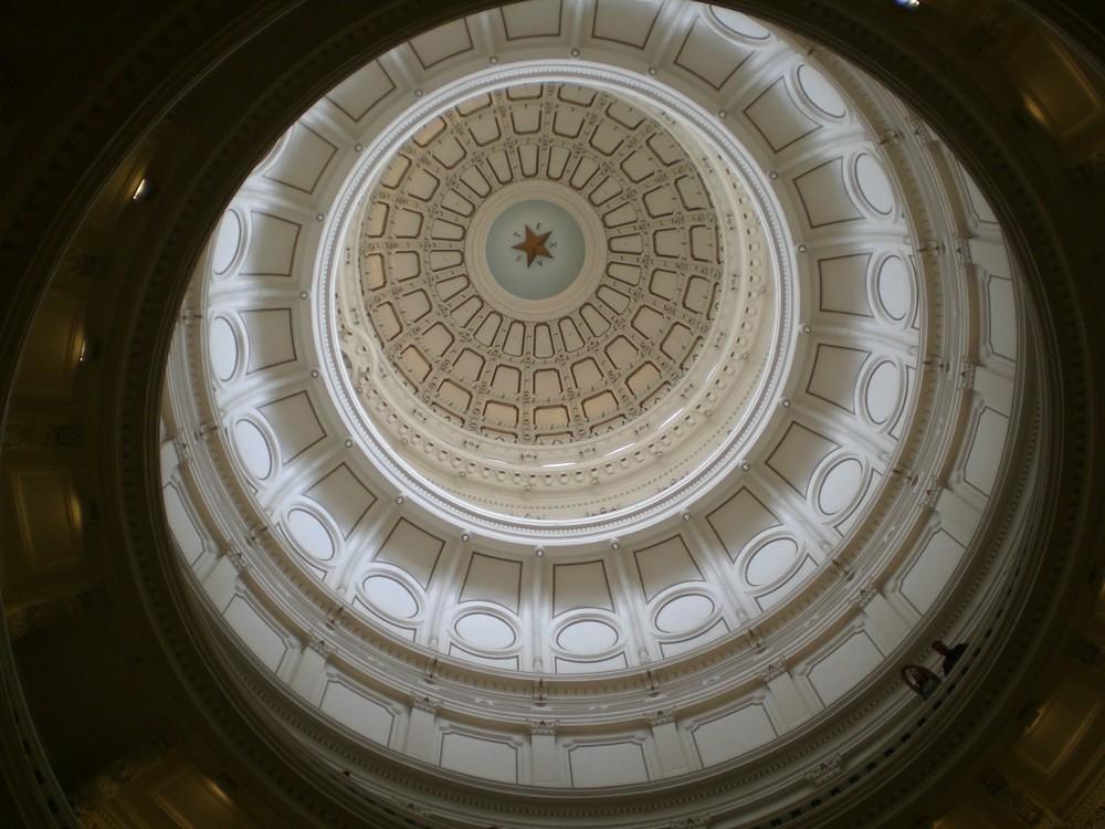 Kuppel vom Capitol in Austin von unten ;)