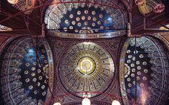 Kuppeln der Sultan Hassan Moschee in Kairo