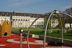 Kurfürstliches Schloß gerüstet für die Bundesgartenschau