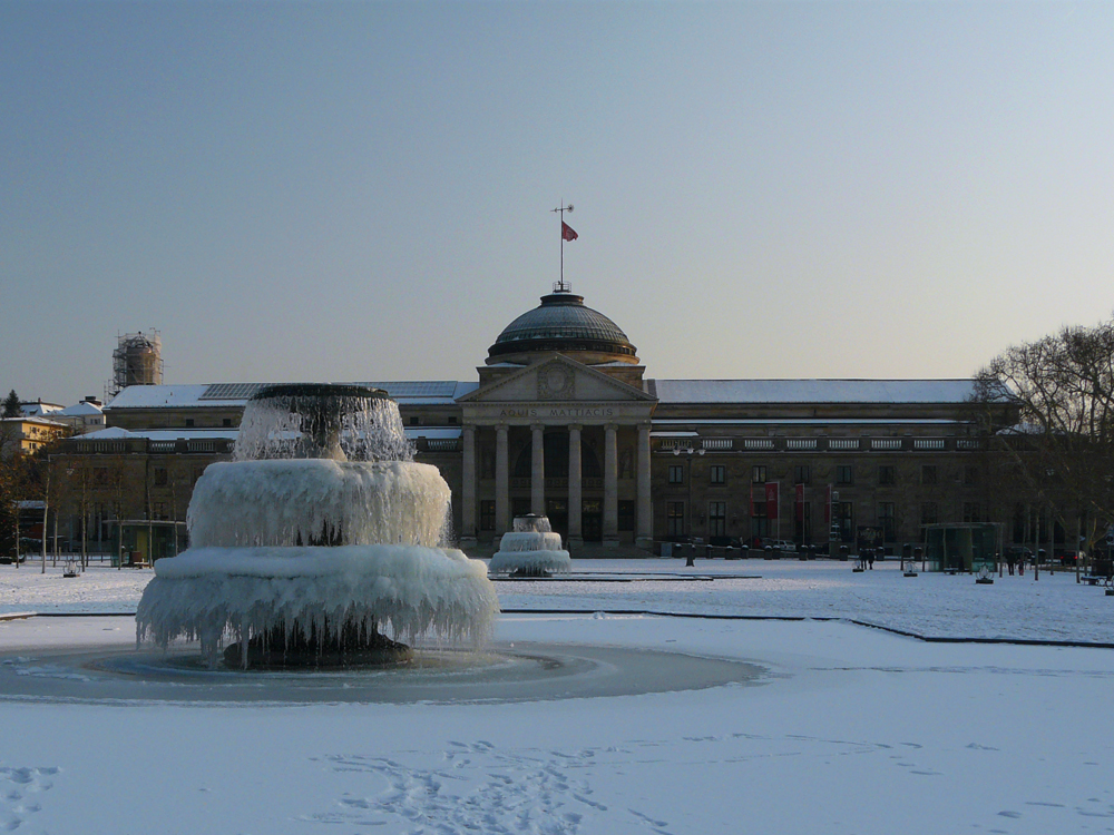 Wiesbaden Schnee