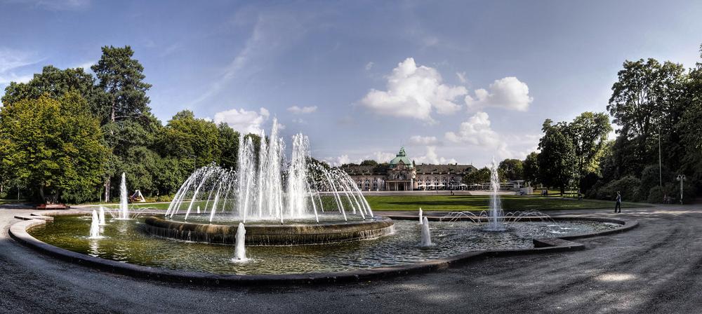 Kurpark Bad Oeynhausen - Brunnen & Kaiserpalais