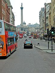 Kurs auf Trafalgar Square