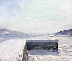Kurt Schwitters See im Winter