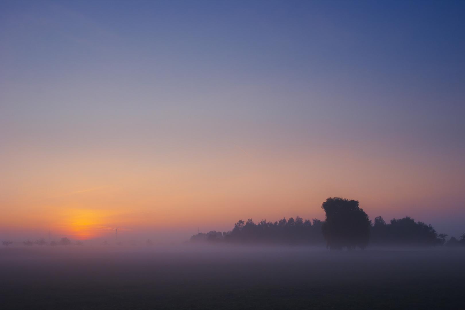Kurz nach Sonnenuntergang