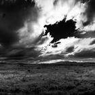 Kurz vor dem Gewitter Black & White