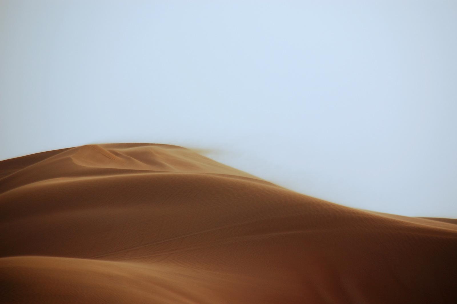 kurz vor dem Sandsturm