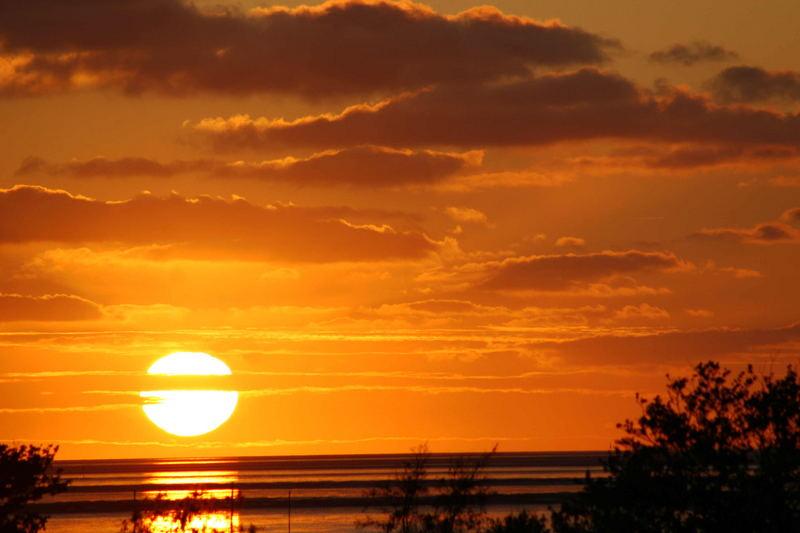 Kurz vor dem schlafengehen der Sonne .....