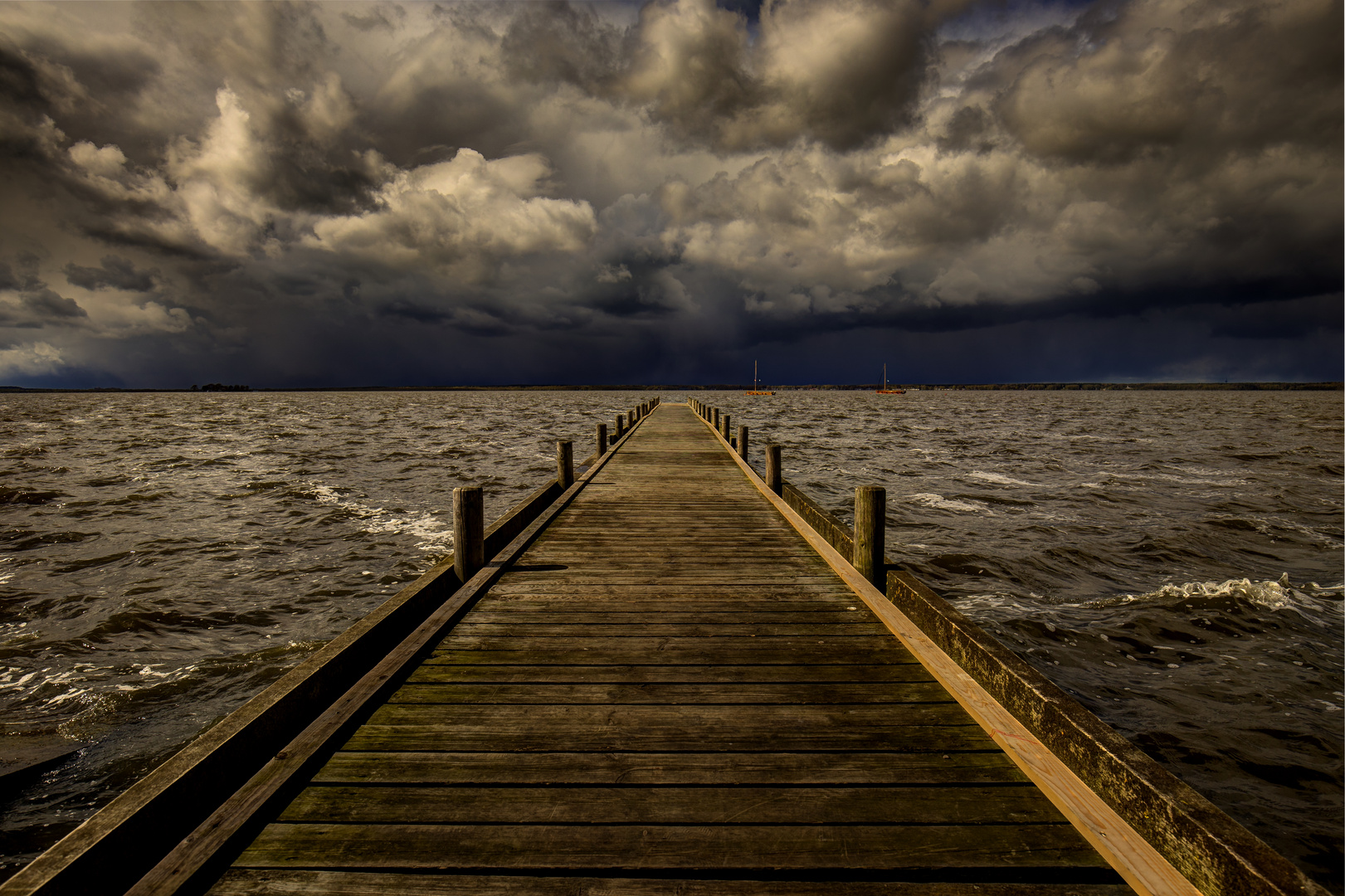 kurz vor dem Sturm