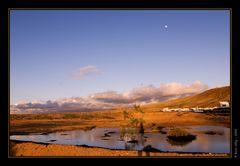 Kurz vor der Blauen Stunde auf Lanzarote