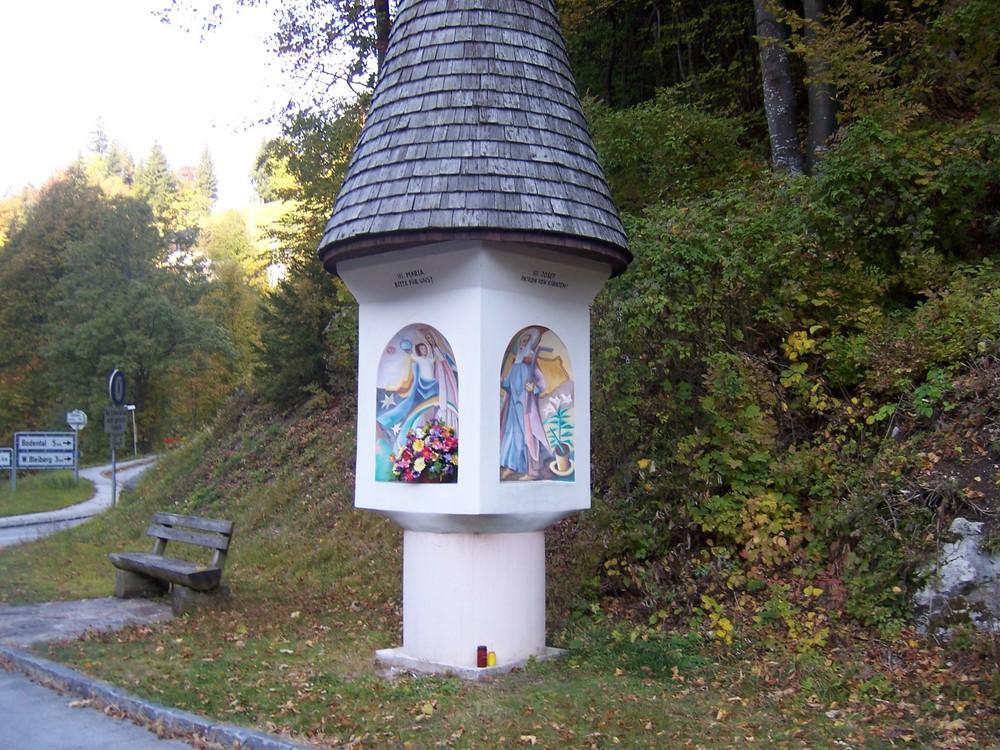 Kurz vor der Grenze nach Slovenien
