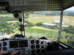 Kurz vor der Landung