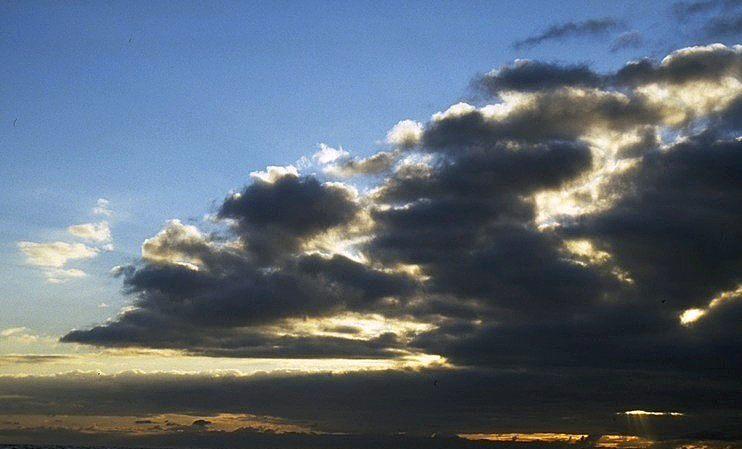 Kurz vor einem Unwetter...