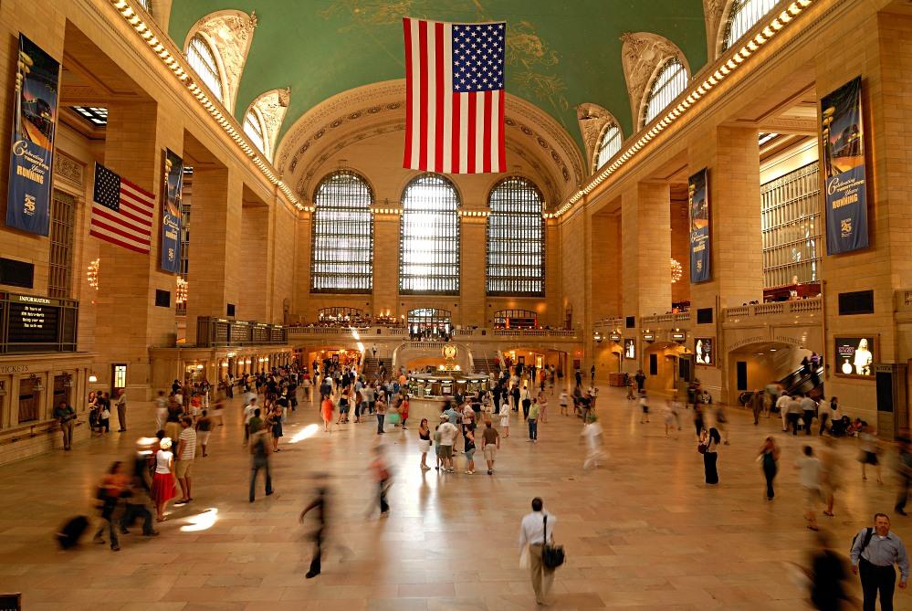 kurz vor Rush Hour in New Yorks Central Station