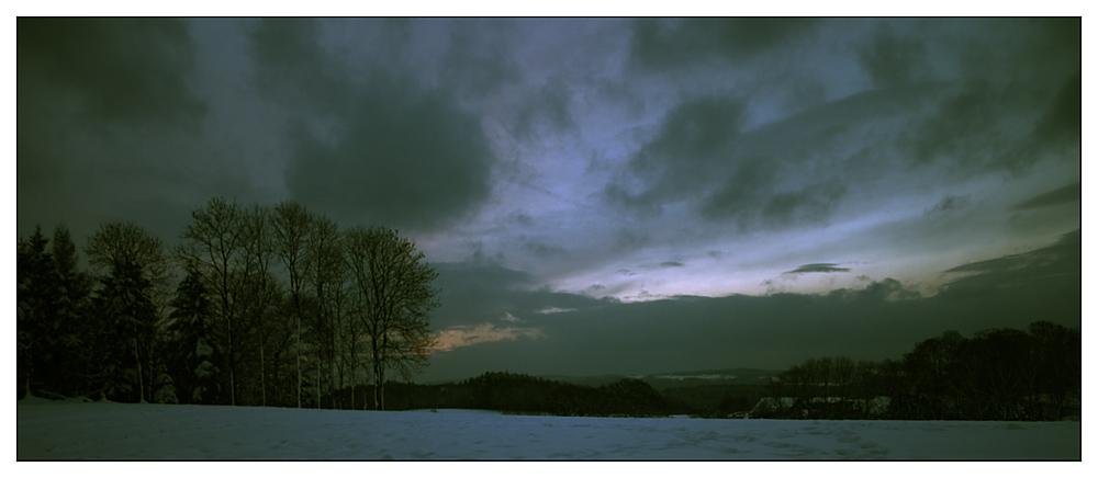 Kurz vor Sonnenaufgang V2