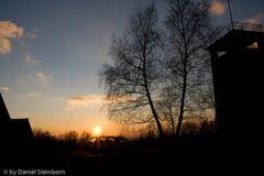 Kurz vor Sonnenuntergang...
