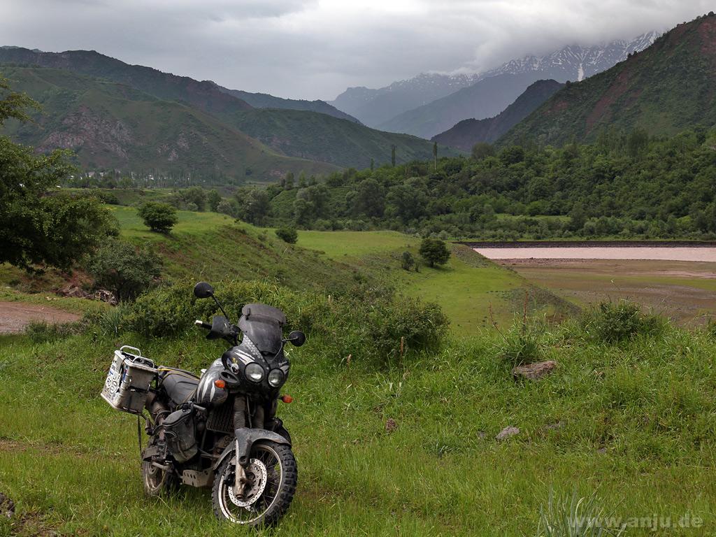 kurz vorm Pamir Highway