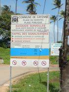 kurz vorm Strand in franz. Guyana