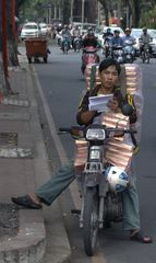 Kurze Pause in Vietnam