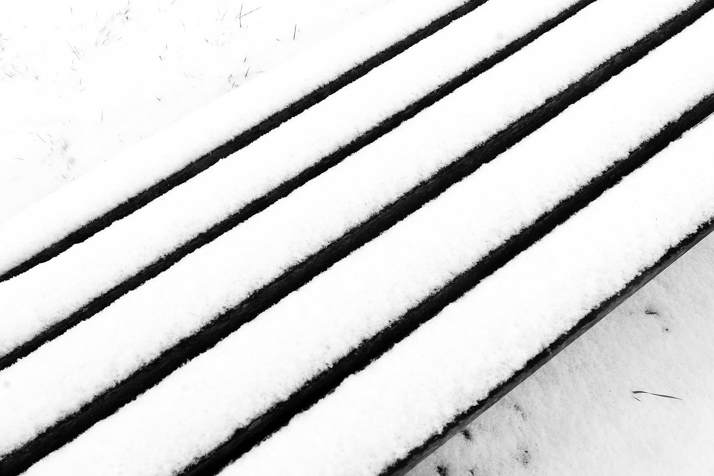 Kurze Winterfreude diagonal