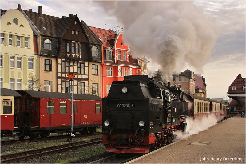 Kurzzug auf der Harzquerbahn