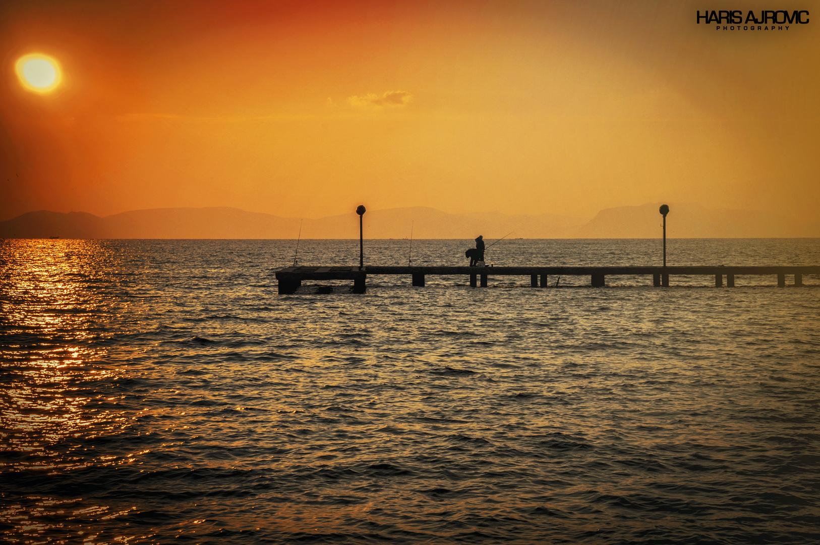Kusadasi - Sonnenuntergang