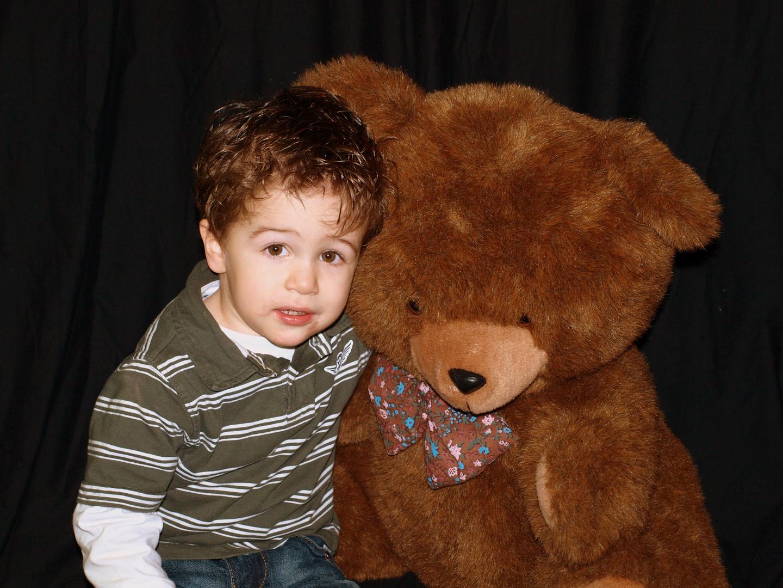 Kuscheln mit Teddy